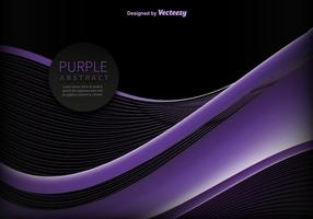 Abstract purple wave vector