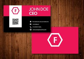 Modern Creative Business Card vector