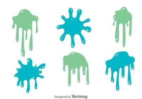 Verf splat set vector
