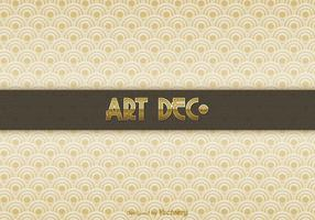 Gratis Art Deco Vector Achtergrond