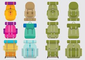 Boy Scout Backpacks vector