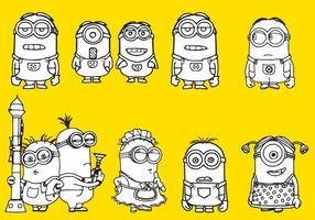 Coloration minions