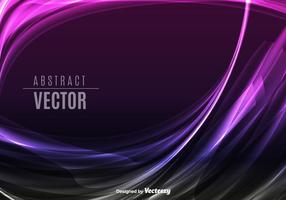Purple abstract waves
