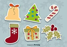 Julklistermärken