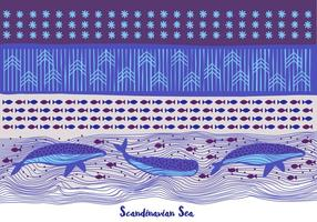 Sea-background-with-whales-and-pattern