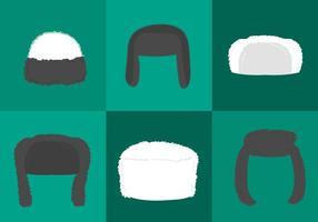 Man Fur Hat Vectors