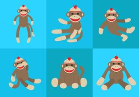 Vector Sock Monkey