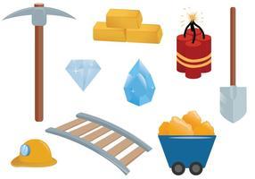 Vetores de mineração grátis