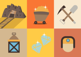 Gold-mine-free-vector