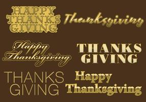 Titres d'or de Thanksgiving