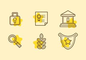 Free Law Office Vector Icons #12