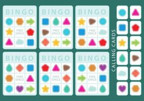 Shapes Bingo Cards