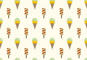 Ice Cream Vector Background
