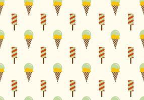 Ice Cream Vector Background
