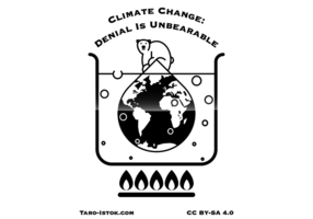 Klimatförändring: Denial är outhärdlig