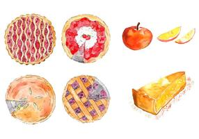 Apple pie vectoriales