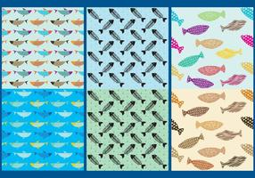 Fish Pattern Vectors