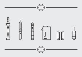 Free Vape Vector Icons # 1