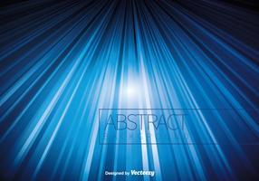 Blaue abstrakte Linien vektor