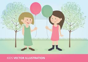 Kids Vector Illustratie