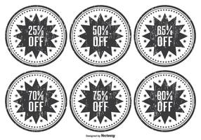 Distressed Discount Web Stamps