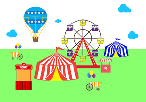 Gratis Country Fair Vector