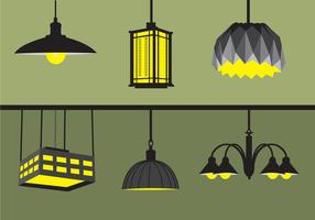 Hanging Lights vector