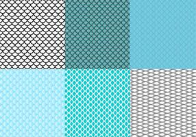 Gratis Fish Scale Pattern Vector