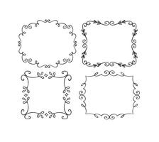 Decoratieve Frame Set