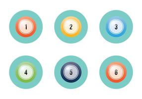 Gratis Lotto Balls Vector Illustratie