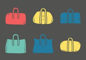 Free Duffle Bag Vektor-Illustration
