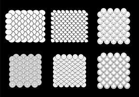 Gratis Fish Scale Vector Pattern