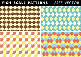 Fisch-Skala-Muster Free Vector