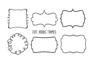 Cute Doodle Frame Set