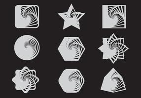 Vector infinito de forma infinita