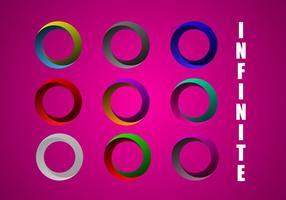 Free Infinite Circle Vector