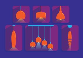 Hanging Light Vector Pendants