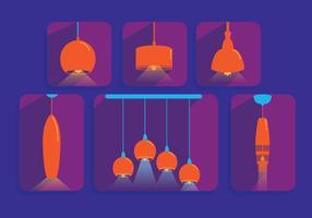 Hangende Lichte Vector Hangers