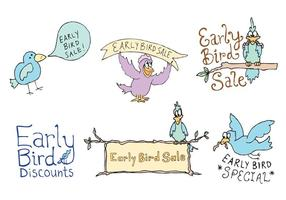 Free Early Bird Vector Series
