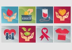 Donate Icon Vector