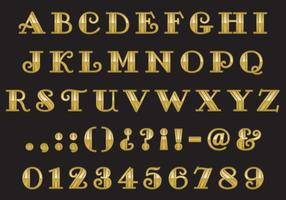 Old Style Gold Type