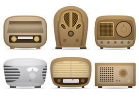 Vetores de rádio transistor
