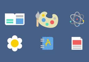 Free Childrens School Vector Icons #2