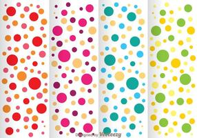 Colorful Polka Dot Pattern vector