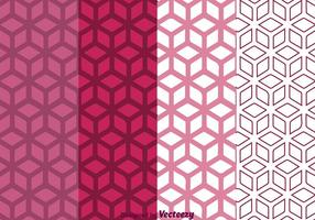 Geometric Purple Background vector