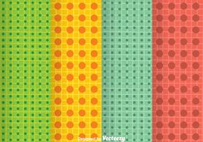 Bright Colors Dot Pattern