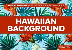 Hawaiian Pattern Vector Background Vol. 3