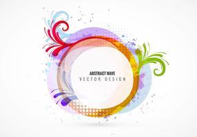 Abstracte vormen vector achtergrond