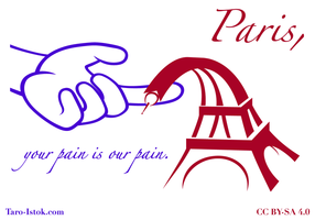 Paris, Your Pain Is Our Pain.