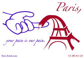 Parijs, Uw pijn is onze pijn.